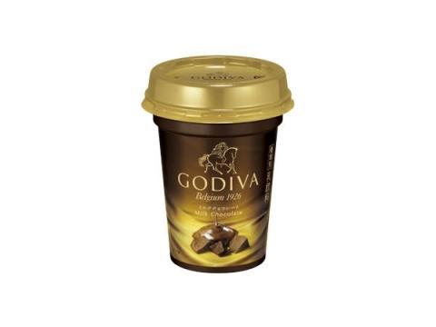 日本初!「GODIVA」の味がチルドカップドリンクで登場
