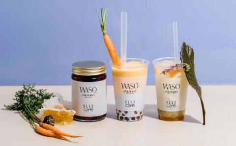 SHISEIDO「WASO(ワソウ)」が「ELLE cafe」とコラボ!美しさを引き出すドリンク&スープを限定発売☆
