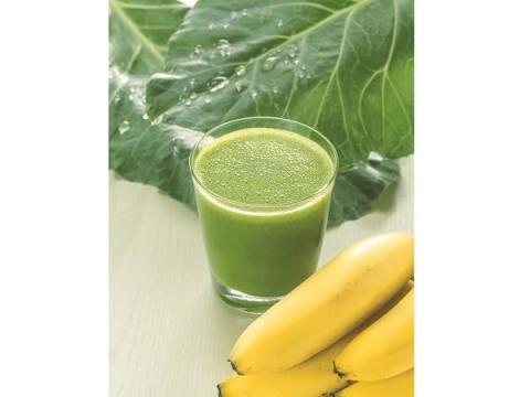 野菜不足の人に!青汁を使った「グリーンバナナスムージー」