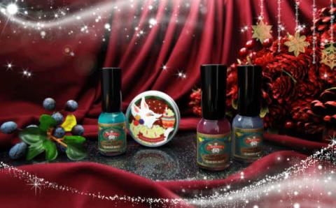 爪に優しい水性マニキュア「胡粉ネイル」にクリスマス限定アイテムが登場!パーティーシーズンにぴったり♡