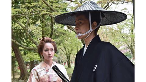 吉岡里帆「やっと念願の時代劇に出演できるという喜びでいっぱい」。