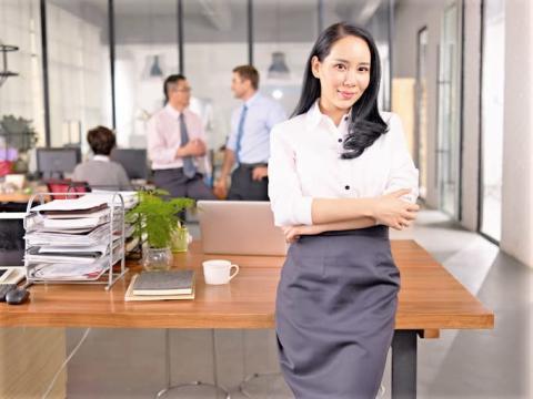 男よりよっぽど効率的でかつ合理的な仕事の進め方をする女性社員は素敵です