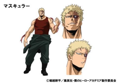 『僕のヒーローアカデミア』TVアニメ3期「新キャラクター」デザインとキャストが解禁