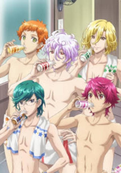 TVアニメ『美男高校地球防衛部HAPPY KISS!』キービジュアル、PV、主題歌情報が公開