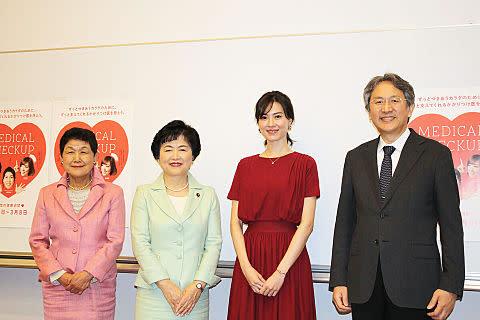 女性の健康週間イベント登壇者の写真