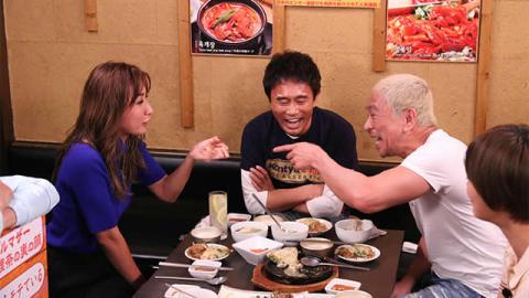 ISSA、鈴木紗理奈がロケ「本音でハシゴ酒」のお店紹介in市ヶ谷