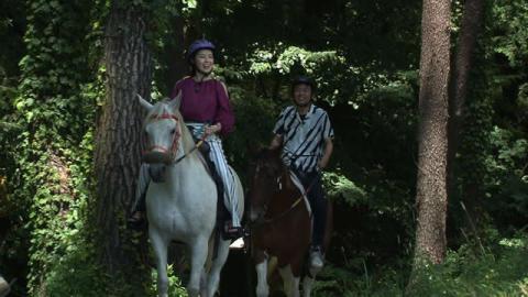 藤あや子、乗馬と美食のセレブな別荘ライフ&ヨンア、米倉涼子に感謝!