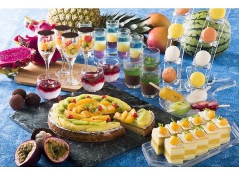 「トロピカルデザートビュッフェ」でカラフルな夏を満喫!
