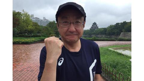 三宅正治アナとキラビトが雨の広島を走る!「日本つながるプロジェクト」