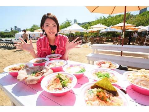 IKE麺スタッフと楽しむ「ラーメン女子博in大阪」開催