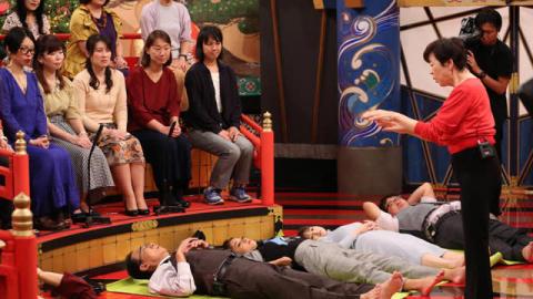 認知症に効く「きくち体操」を公開!女優・原日出子も初体験で「気持ちいい」