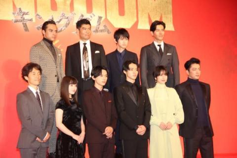実写映画『キングダム』主要キャスト9人発表 山崎賢人、吉沢亮ら人気俳優集結