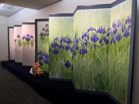 東京白金台・瑞聖寺にて「小川勝久 平成琳派展」開催