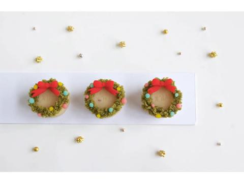 クリスマスの和菓子を作ろう! ランチ付きワークショップ開催
