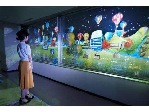 子供達のデザインした気球が佐賀の夜空に舞い上がる!