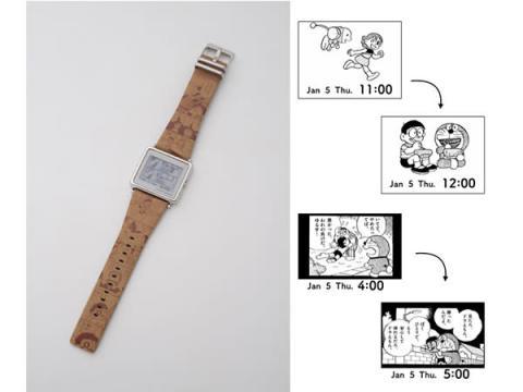 ドラえもん&仲間たちと24時間365日過ごせる腕時計が新登場