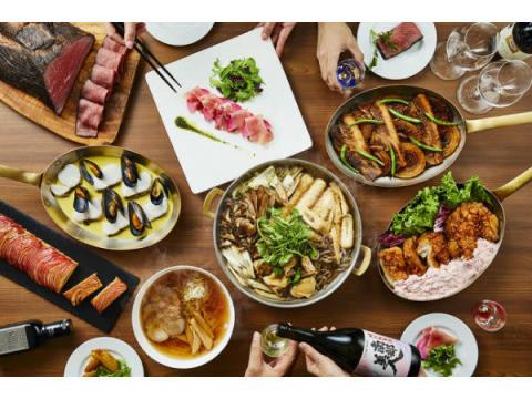 東北6県の冬味覚を集めた期間限定のディナーブッフェ