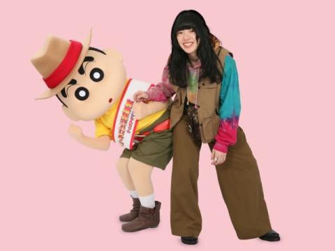 あいみょん、大喜び「一生の宝物」 映画『クレヨンしんちゃん』主題歌決定