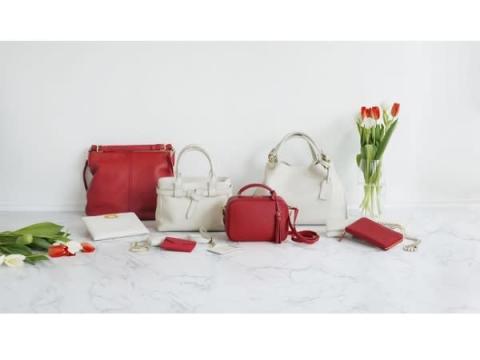 土屋鞄の人気シリーズ「clarte」に春の限定色が登場!