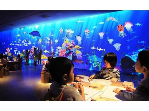 「チームラボ お絵かき水族館」が伊勢志摩にやって来る!