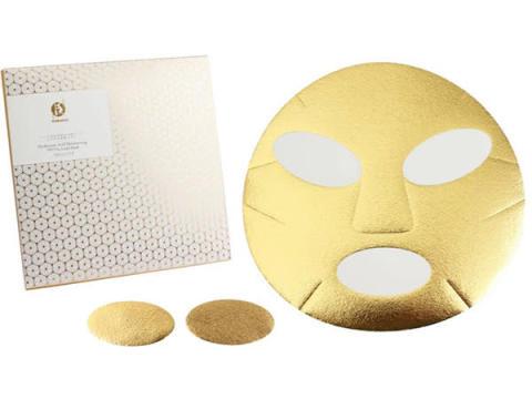 純金とうるおい成分がとろけてなじむ、新感覚の金箔マスク