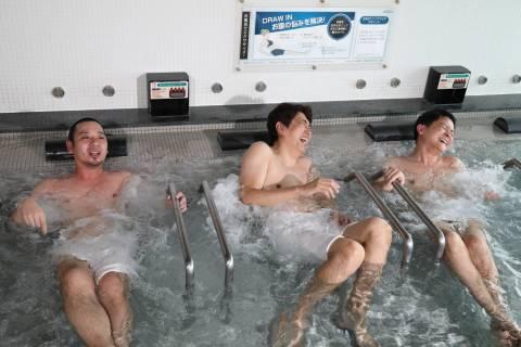 千鳥・大悟、極寒水風呂にダイブ!爆笑名言を生み出し、石橋貴明も腹筋崩壊