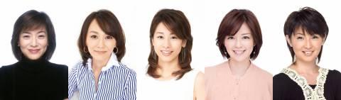 フジテレビ開局60周年記念WEEKに歴代女性キャスターが『めざましテレビ』生出演!
