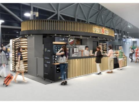 ヨーロッパのカフェ風!本格スタンドカフェが関西国際空港にOPEN