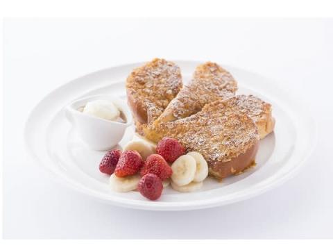 朝食4種類を一度に楽しめる「サラベス」フレンチトースト!