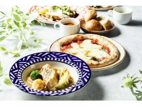 なんばパークスに窯焼きピッツァ&イタリア郷土料理の新店OPEN