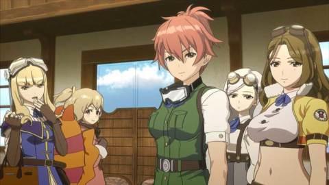 女の子×戦闘機=空のロマン! TVアニメ「 荒野のコトブキ飛行隊 」見てみませんか?
