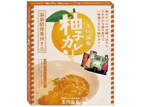 柚子の廃棄部分を活用!玉川温泉入浴券つき「柚子カレー」