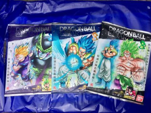 『ドラゴンボールZ』『ドラゴンボール超』色紙ART8/ウエハースUNLIMITED3レビュー!ブロリーをあてっぞ!!