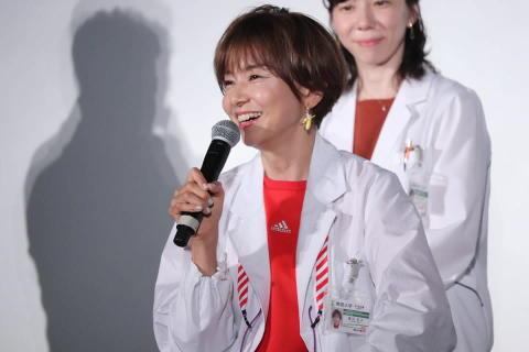 山口智子、佐野アナにダメ出し「盛り上げていただけますか?」