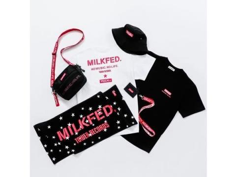 タワレコ×MILKFED.の夏コラボ!Tシャツ・タオルなど発売