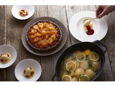 3連休は、夏が旬のフルーツを使ったデザートコースを堪能!