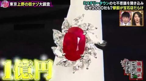 岸優太が上野の街の謎を徹底調査!1億円の宝石、古代神殿に…!?