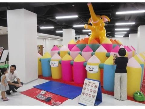 """ワンコインで楽しめる!東京タワーで""""ふわふわ""""が遊び放題"""