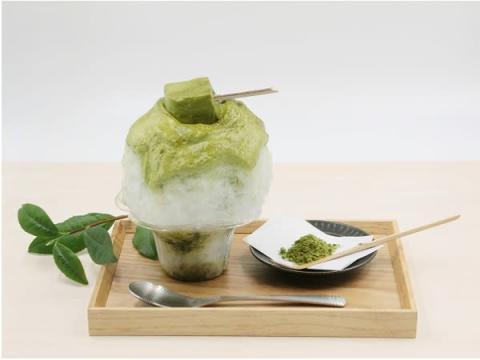 煎茶の渋味を楽しめる、日本茶スタンド「八屋」の限定かき氷