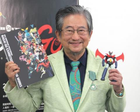 73歳・永井豪、フライト中12時間寝ずに映画鑑賞 仏での勲章受賞理由は「さっぱり、わからなかった」