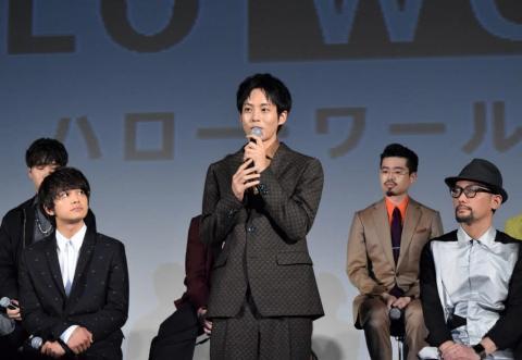 松坂桃李 監督からのラブレターに大照れ!「自分で言うのは恥ずかしい」