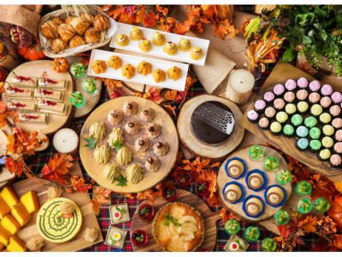 秋の味覚を食べ放題!「ハロウィン・デザートブッフェ」開催