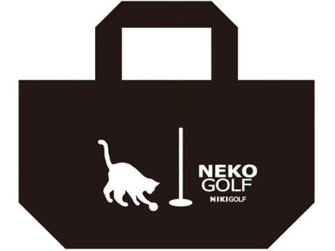 """二木ゴルフで""""ネコゴルフのネコエコバッグ""""をプレゼント!"""