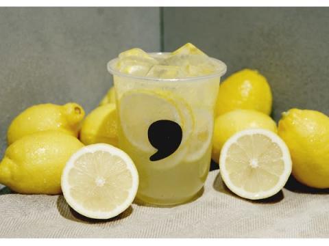 天然レモンの香りがいっぱい!「comma tea」にレモネード2品