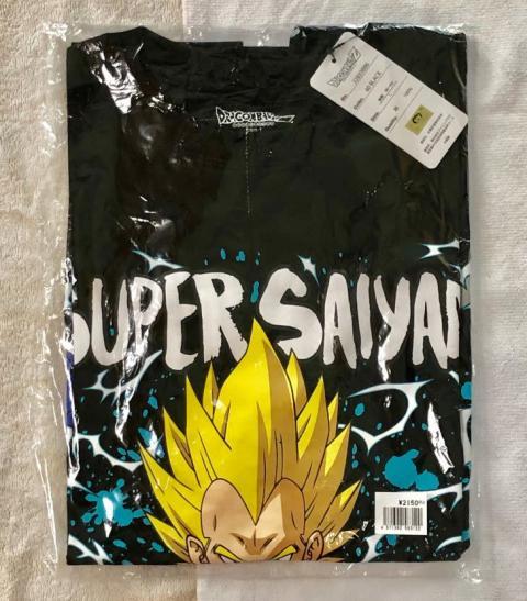 秋葉原で見つけた『ドラゴンボールZ』超ベジータのカラーTシャツがかっこいい!これでお値段たったの……