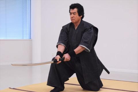 リアル侍!藤岡弘、が居合い斬りを披露!「侍に二刀はない。すべて天命です」