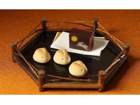 「宗家 源 吉兆庵」のお月見向け和菓子がかわいすぎ!