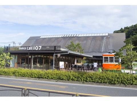 引退車両「箱根登山鉄道107号」が小田原でカフェに!