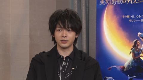 中村倫也、魔法のランプで「サメになりたい」 映画『アラジン』インタビュー映像解禁