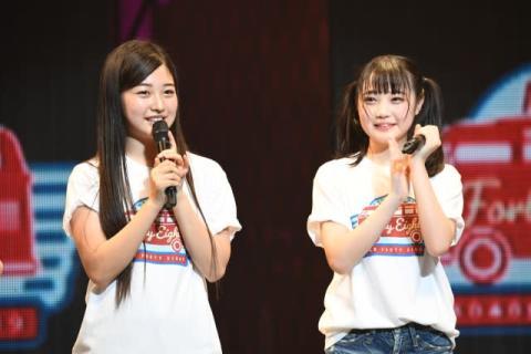 AKB48研究生・佐藤美波&道枝咲、加入1000日超で正規メンバー昇格に涙